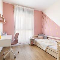 חדר ילדים בסגנון מודרני. עוצב על ידי המעצב <a href='/designers?des_id=2468'>הילה אריאלי</a>